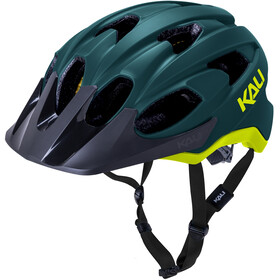 Kali Pace SLD Helm, matt teal/fluo yellow